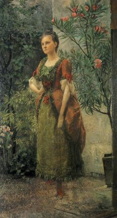 Portrait of Emilie Floge 1893, Gustav Klimt