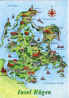 Rügen ist die größte deutsche Insel.