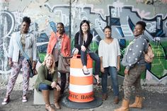 Rebel Nell turns graffiti into wearable art, all while empowering women to become entrepreneurs of their own.