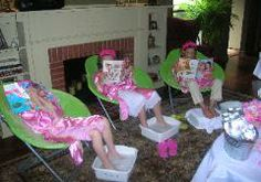 Spa party for girls