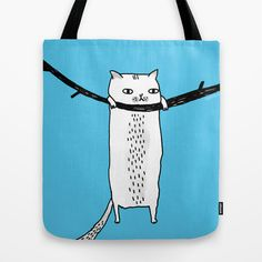 Hang in There, Baby Tote Bag Society 6 (USA) $22.00