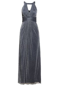 #Unique #Ballkleid #graphit #grey für #Damen -