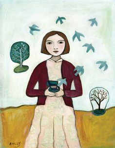 Fine Art Mini Print Release by annwilley on Etsy, $12.00
