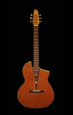 SmoothTalker Guitars nylon acoustic - something of a departure from Mervyns usual builds - 1 of 3 http://www.smoothtalkerguitars.com/