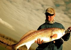 Fly Fishing for Trophy Redfish in the Biloxi Marsh.  New Orleans, LA