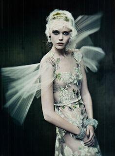 Haute Couture series for Vogue Italia September 2011