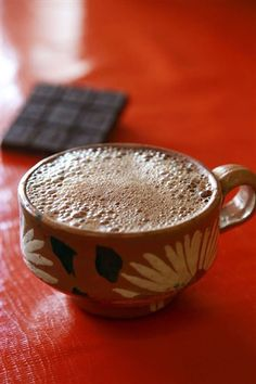Chocolate de Oaxaca,  México. Sending you this perfect drink for Valentine's Day!