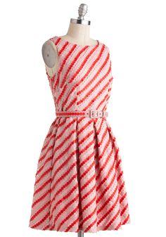 Eva Franco Candy Button Beauty Dress | Mod Retro Vintage Dresses | ModCloth.com