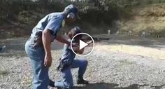 Assim é Um Treino Policial Na África Do Sul