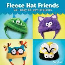 Fleece sewing projects Fleece Hat Friends