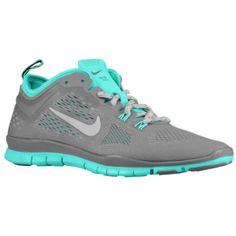 Nike Free 5.0 TR Fit 4 - Women's - Light Ash/Hyper Turq/Light Ash Grey