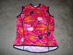 PERFORMANCE BICYCLE CYCLING JERSEY WOMENS SMALL ROAD/MOUNTAIN BIKE JERSEY NICE!