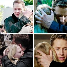 I love how he always holds the back of her head when he hugs her. Just like when she was a baby.