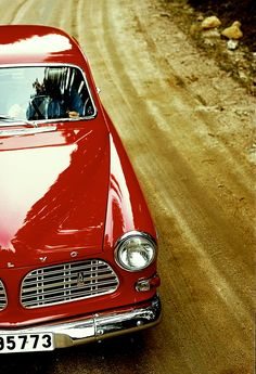 red volvo. I Want this car so bad !! One of the coolest ever built .... Original ofcourse !