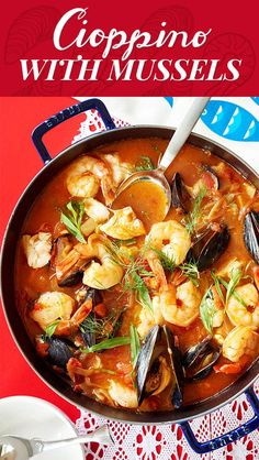 "How To Make A Seafood Stew To Warm Every Heart It's called ""Cioppino"" and it's your new favorite thing. Fish Dishes, Seafood Dishes, Seafood Recipes, Dinner Recipes, Cooking Recipes, Healthy Recipes, Ways To Eat Healthy, Healthy Eating, Gastronomia"