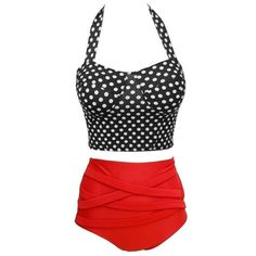 2015 Hot Sexy Retro Biquini Vintage Pin Up High Waist Bikini Sets Plus Size Swimwear Dot Push up Bathing Suit Swimsuit