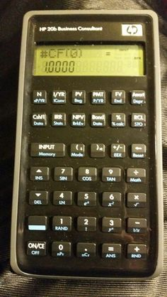 HP 20b RPN/algebraic financial calculator