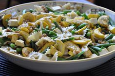 tofu pasta salad with basil vinaigrette