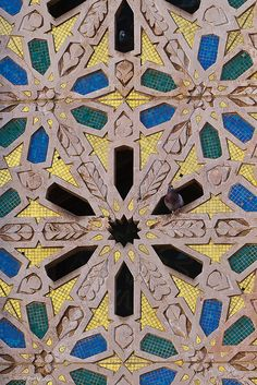 detail Hassan II mosque - Casablanca, Morocco by Phil Marion, via Flickr