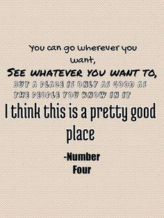 i am number four libro quotes - Buscar con Google