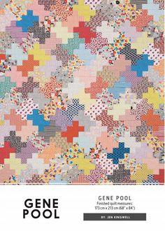 Canton Village Quilt Works | Gene Pool by Jen Kingwell