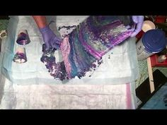 (056) Flip Cups Acrylic Pouring - YouTube