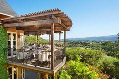 Auberge du Soleil's Bistro & Bar Terrace in Napa Valley.