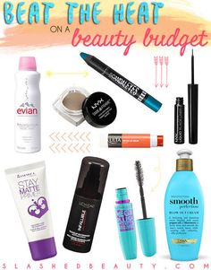 Get the list: http://www.slashedbeauty.com/sweat-proof-beauty-for-summer/