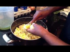 Auntie Fee's potato salad. I made this minus the celery and it was amazing.