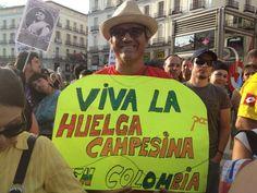 @HsalasteleSUR #España. 'No queremos, no nos da la gana, ser una colonia norteamericana', se oye aquí. #Madrid. Ahora!