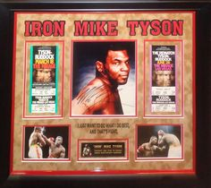 Antiquities LV - Mike Tyson Signed Photo, $1,995.00…