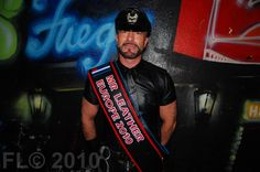Eric is Mr Leather Europe 2010