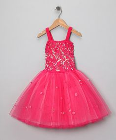 Take a look at this Fuchsia Sophie Dress - Toddler & Girls by Fairy Dreams on #zulily today!