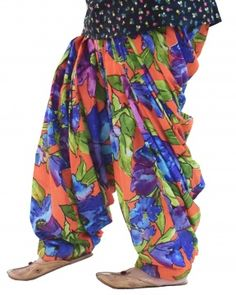 Limited Edition Printed 100% Pure Cotton Full Patiala Salwar PPS177