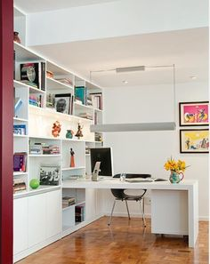 Inspiration: 10 Beautiful Home Offices   Home Design and Decor