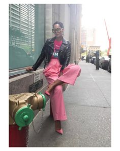 "40.8k Likes, 755 Comments - Tracee Ellis Ross (@traceeellisross) on Instagram: ""Work day in #NYC Styled by me out of my closet #TheGirlWhoShopsTooMuch"""