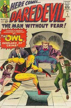 As primeiras 7 edições da revista do Homem Sem Medo!