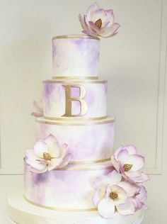 Wedding cake idea; Featured Cake: The Sugar Suite