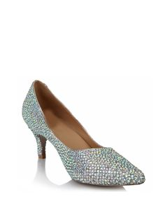 Shop Heels - Multicolor Rhinestone Stiletto Heel Patent Leather Dress Summer Heel online. Discover unique designers fashion at StyleWe.com.