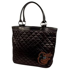 Baltimore Orioles MLB Sport Noir Quilted Tote