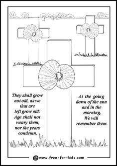 Remembrance Day Warrior Graveyard Coloring Pages : Coloring Sun Remembrance Day Posters, Remembrance Day Pictures, Remembrance Day Activities, Remembrance Day Poppy, Colouring Pages, Printable Coloring Pages, Kids Colouring, Memorial Day Coloring Pages, Cross Drawing
