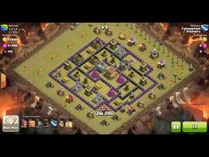 clash of clans attack strategy spread base