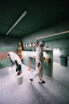 Shaper's Surfboard Workshop by Urs Siedentop & Co