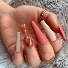 Summer Acrylic Nails, Cute Acrylic Nails, Colored Acrylic Nails, Summer Nails, Aycrlic Nails, Swag Nails, Coffin Nails, Hot Nails, Nail Nail