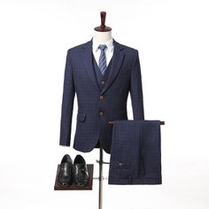 Custom Made Design Wool Custom Made gentleman Style Men Suits Slim Fit wedding suit men's Tailor made Suit(Jacket+Pants+Vest). Yesterday's price: US $179.99 (148.19 EUR). Today's price: US $72.00 (59.52 EUR). Discount: 60%.