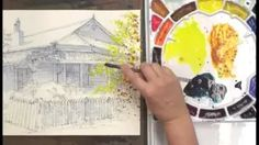 karlyn holman watercolor without boundaries, Part 1 - YouTube