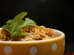 Salada Quente de Quinoa e Legumes Salteados (quinoa salad)