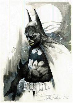 Batman by Simone Bianchi Comic Art, Batman Art, Illustration, Fantasy Art, Dark Knight, Art, Im Batman, Batman Universe, Batman Artwork
