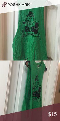Men's muscle St Patrick tee- no sleeves Men's muscle St Patrick tee- no sleeves Shirts Tank Tops