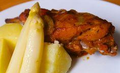 Recept: Netradiční pečený králík na česneku